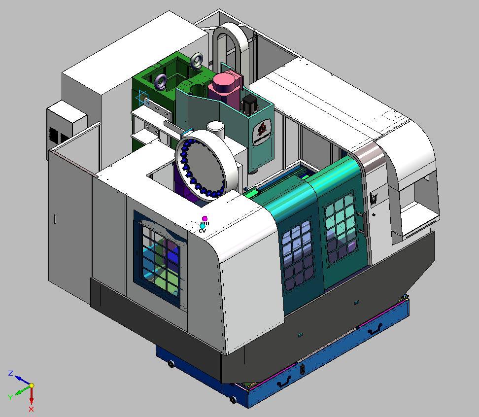 VMC750/1000立式加工中心